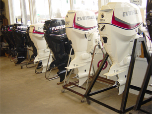 new Evinrude motors